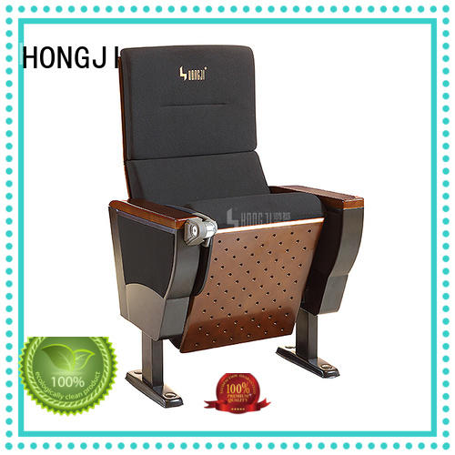 HONGJI 3 seat theater chairs supplier for university classroom