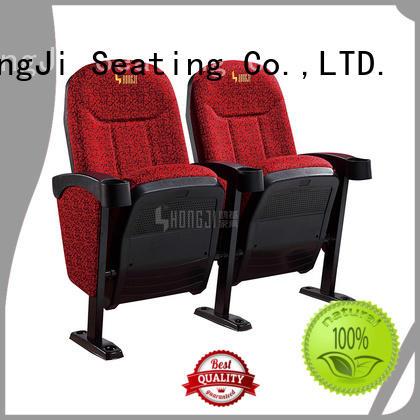 hj16d cinema chairs directly factory price for cinema HONGJI