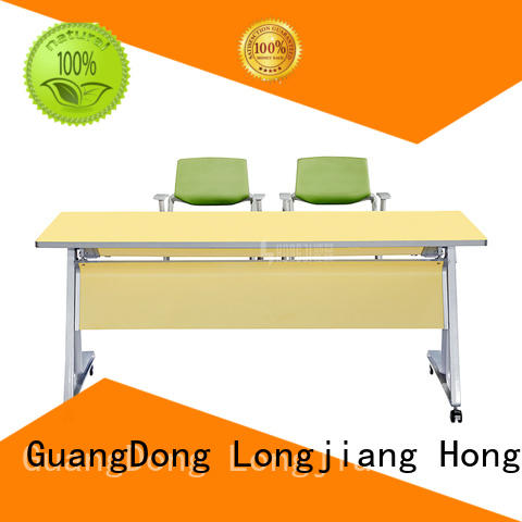 foldable modern office desk hd10b factory for classroom