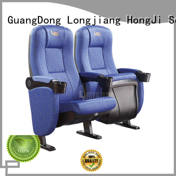 HONGJI fashionable theater chairs factory for cinema
