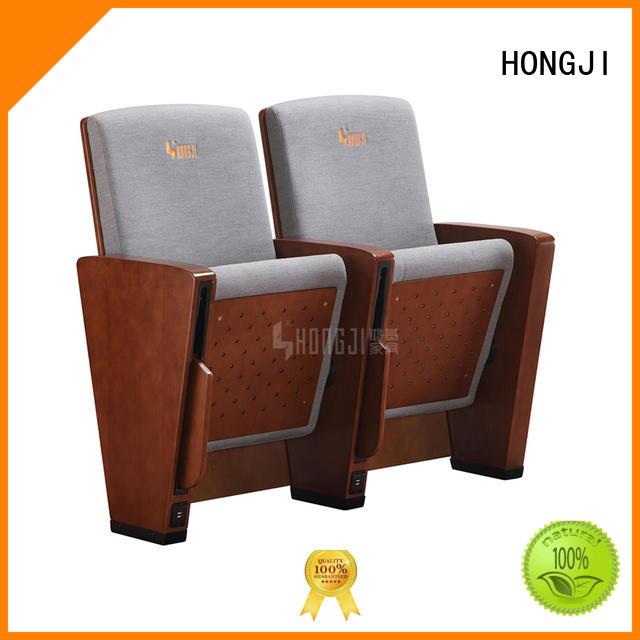 HONGJI church chairs manufacturer for cinema