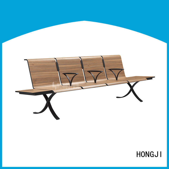 HONGJI durable in use waiting room chairs factory for hosiptal