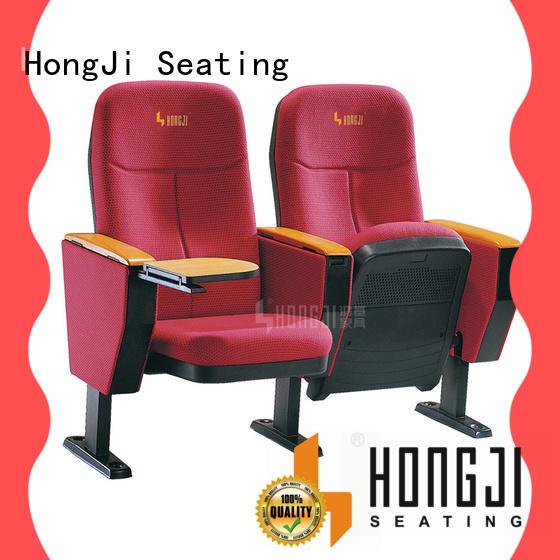 HONGJI black theater chairs manufacturer for cinema