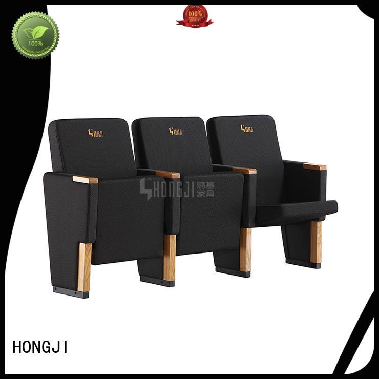 HONGJI church seating chairs supplier for university classroom