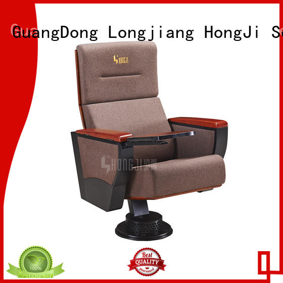 HONGJI unparalleled red theater seats for student
