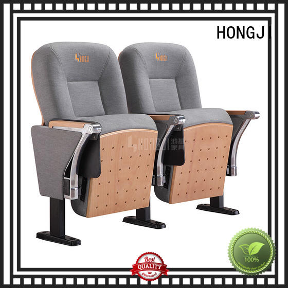 HONGJI black theater chairs factory for student