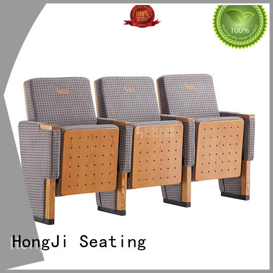 HONGJI outstanding durability commercial theater seating manufacturers factory for student