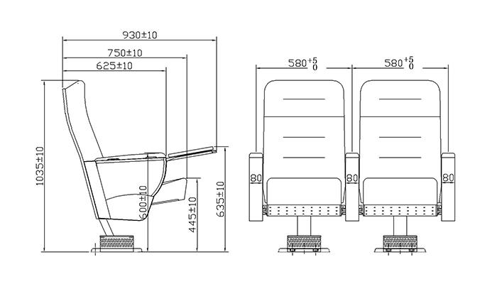 unparalleled lecture hall seating elegant supplier for cinema-1