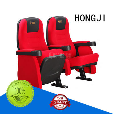 HONGJI elegant home movie theater seats competitive price for importer