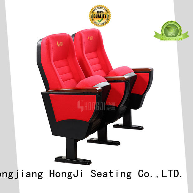 HONGJI outstanding durability folding auditorium chairs manufacturer for office furniture