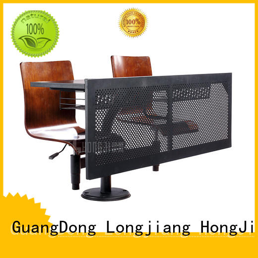 ISO14001 certified school desk chair combo tc002 factory for university