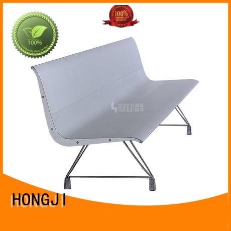 HONGJI Brand design barber waiting chairs area factory