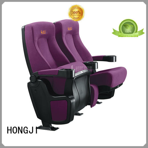 HONGJI hj9505c movie chairs for home competitive price for cinema
