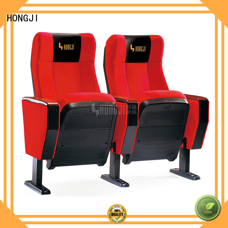 HONGJI high-end auditorium seating chairs manufacturer for student