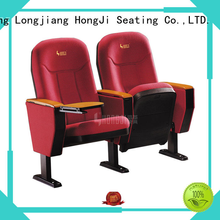lecture theatre chairs seats table HONGJI Brand auditorium chairs