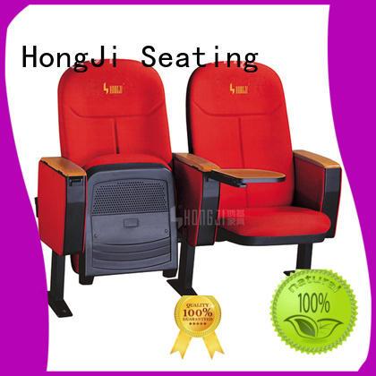 HONGJI high-end stackable auditorium seating manufacturer for university classroom