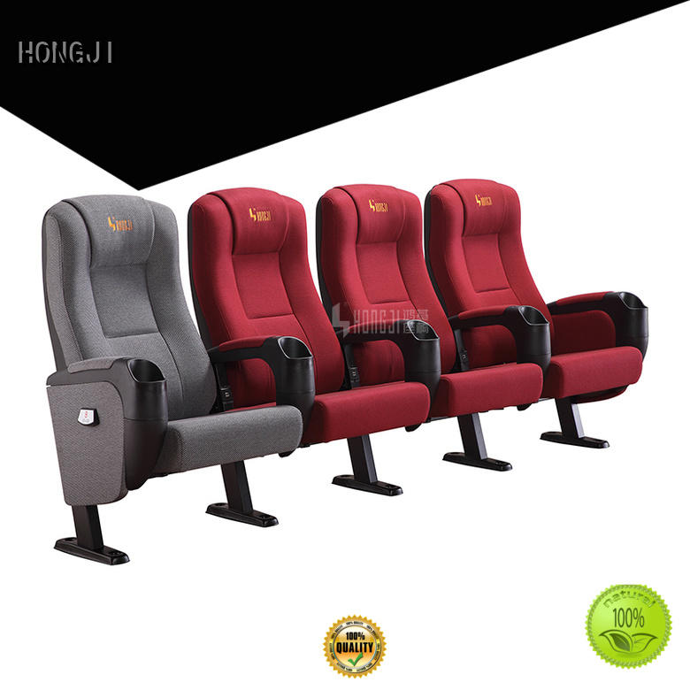 HONGJI chairs home theater seating 4 seater connection cinema