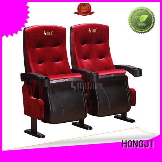 fashionable home theater seating 4 seater hj9913b factory for cinema