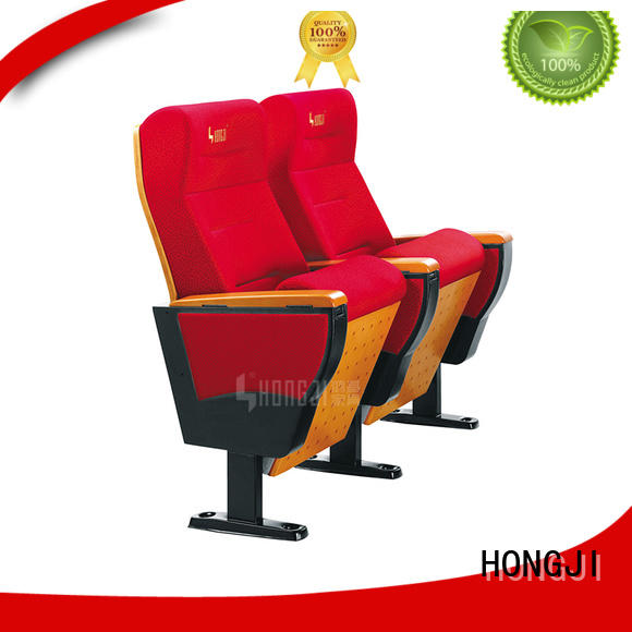HONGJI outstanding durability high end theater seating supplier for university classroom
