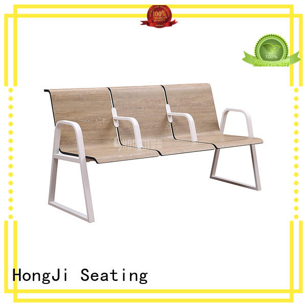 High Quality Plywood Stainless Steel Airport Chairs H72A-3F