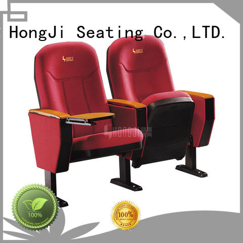 Hot Sale Commercial High Quality Steel Frame Auditorium Seating Upholstery FabricTheater Seats HJ63
