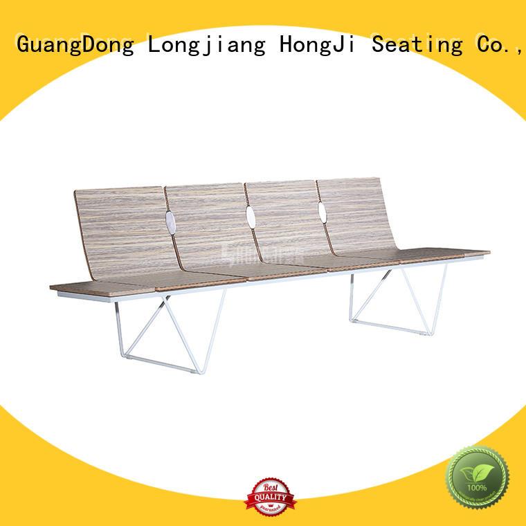 HONGJI h63b4ft waiting room seating for travel terminal
