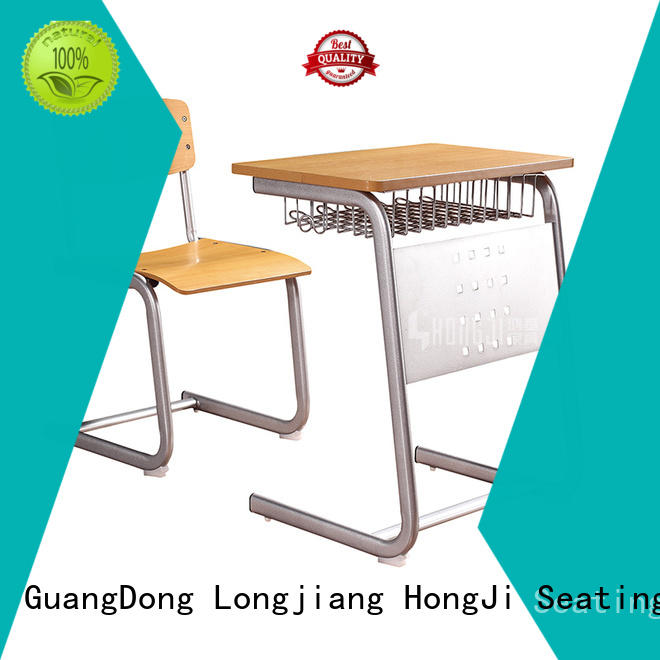 HONGJI ergonomic classroom tables and chairs supplier fpr classroom