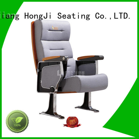 HONGJI elegant stackable auditorium chairs supplier for cinema