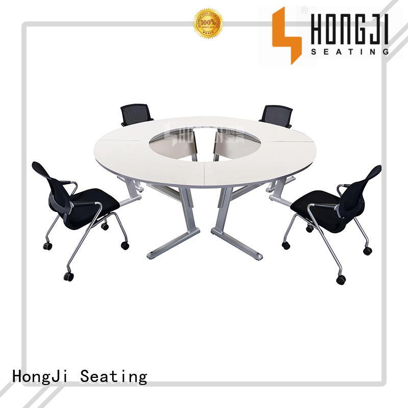 wooden school desk suppliers exporter for classroom HONGJI