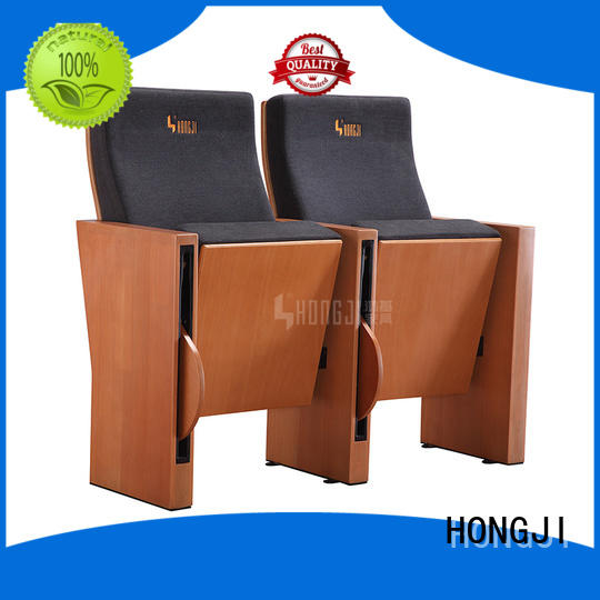 HONGJI newly style auditorium chair manufacturer for sale