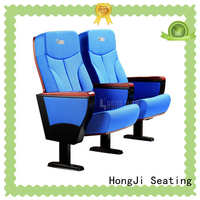 HONGJI unparalleled black theater chairs manufacturer for cinema