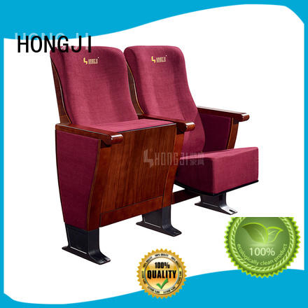 HONGJI black theater chairs supplier for university classroom