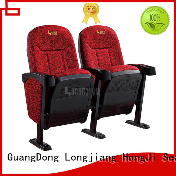 HONGJI fashionable home cinema chairs factory for theater