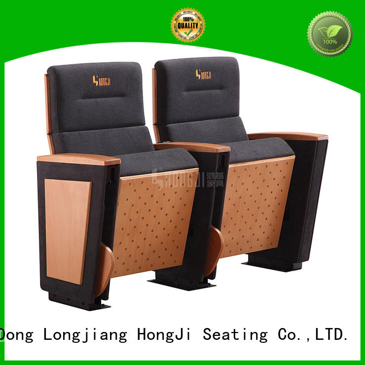 outstanding durability small theater chairs newly style factory for university classroom