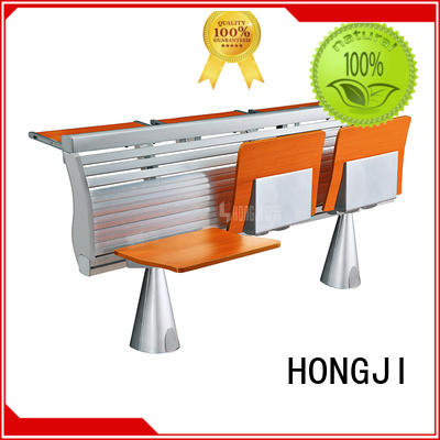 ISO9001 certified classroom chair with desk tc009 manufacturer for university