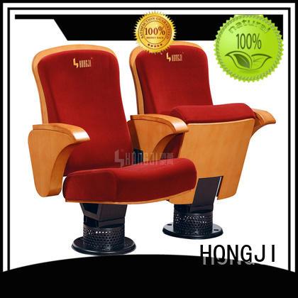 flexible chair auditorium with cinema HONGJI
