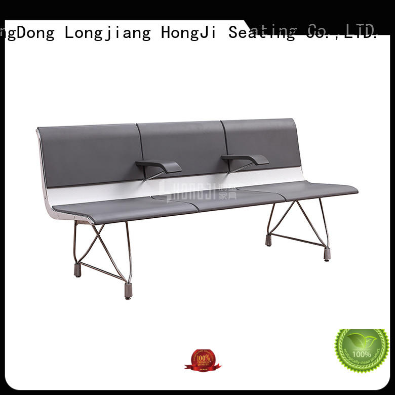 HONGJI h63a4ft reception area chairs design for hosiptal