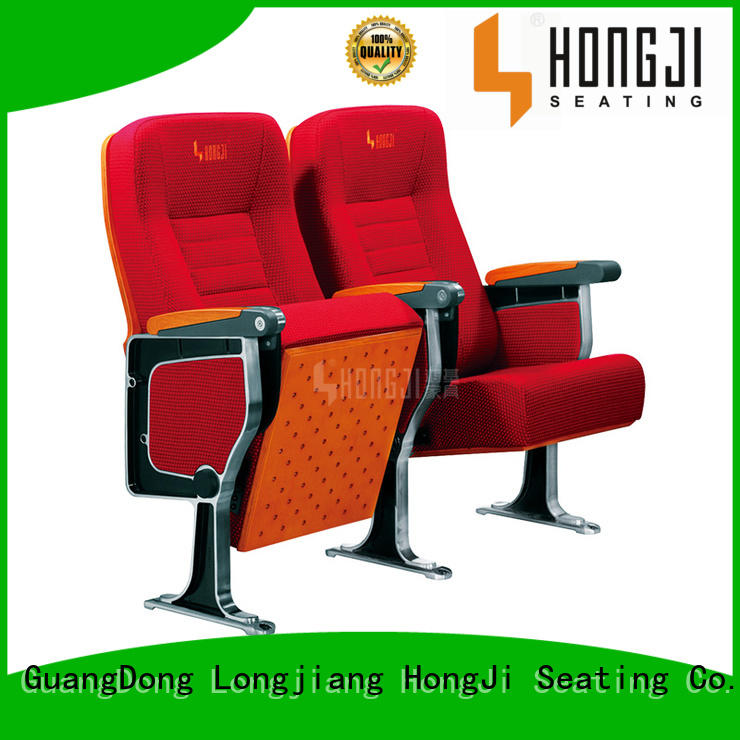 HONGJI stackable auditorium seating manufacturer for university classroom