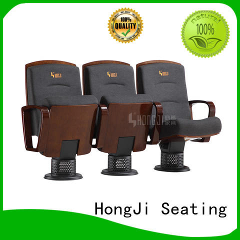 HONGJI excellent 2 seat theater chairs manufacturer for office furniture