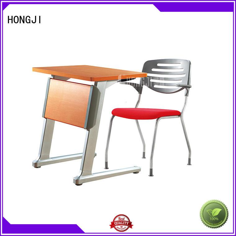HONGJI movable office desk exporter for classroom
