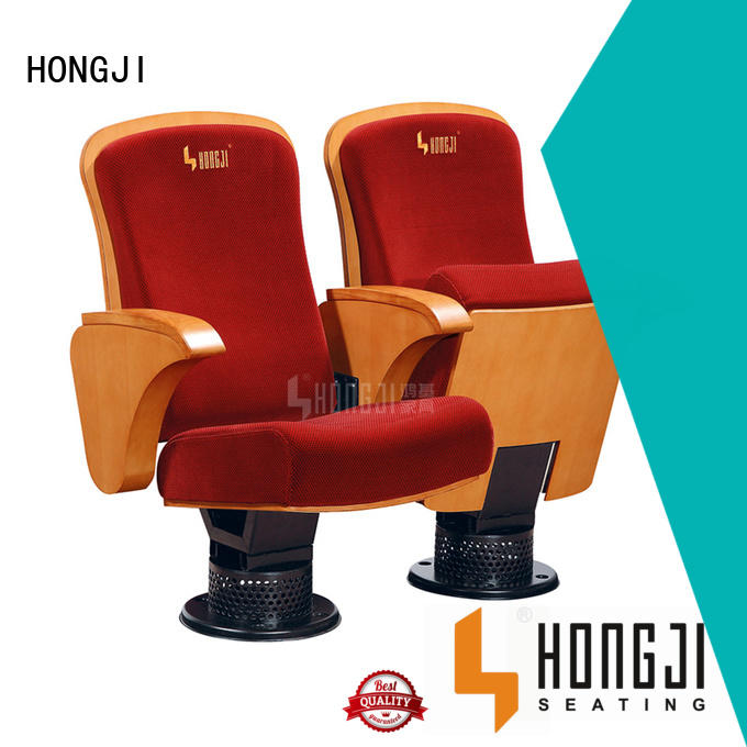 HONGJI excellent church auditorium seating manufacturer for office furniture