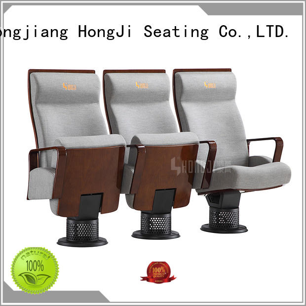 HONGJI outstanding durability lecture theatre seating factory for student