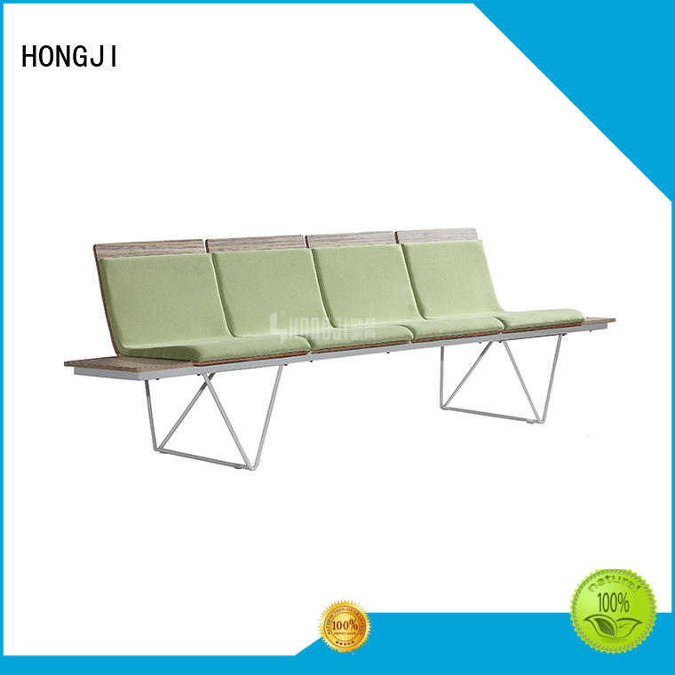 HONGJI h63b4ft waiting chair fine workmanship for bank