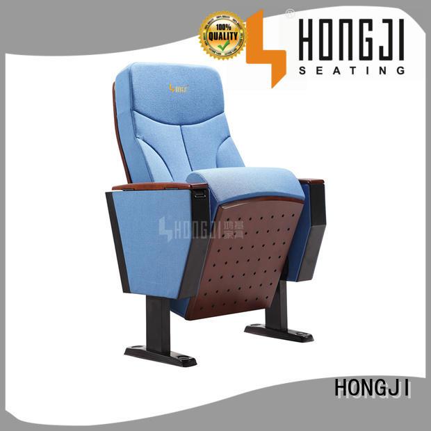 Hot highgrade auditorium chairs alloy antipanic HONGJI Brand