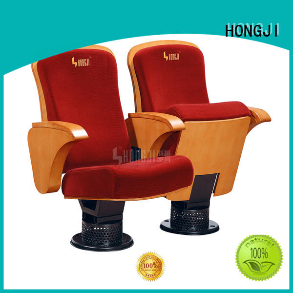 HONGJI excellent 2 seat theater chairs supplier for student