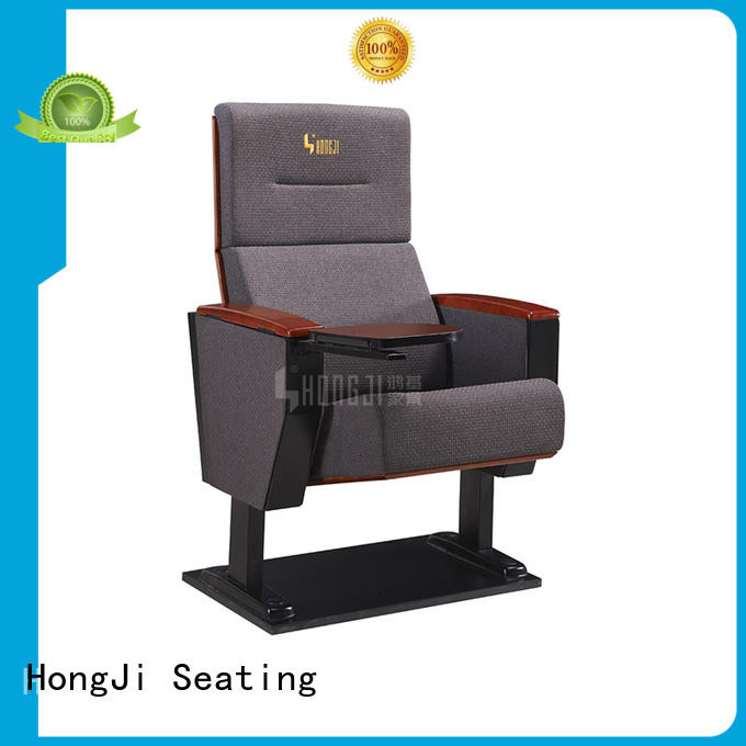HONGJI elegant double theater chairs supplier for sale