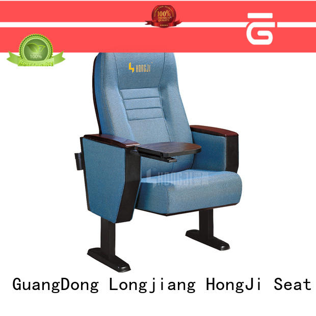 HONGJI aluminium collapsible theater seating yes sale