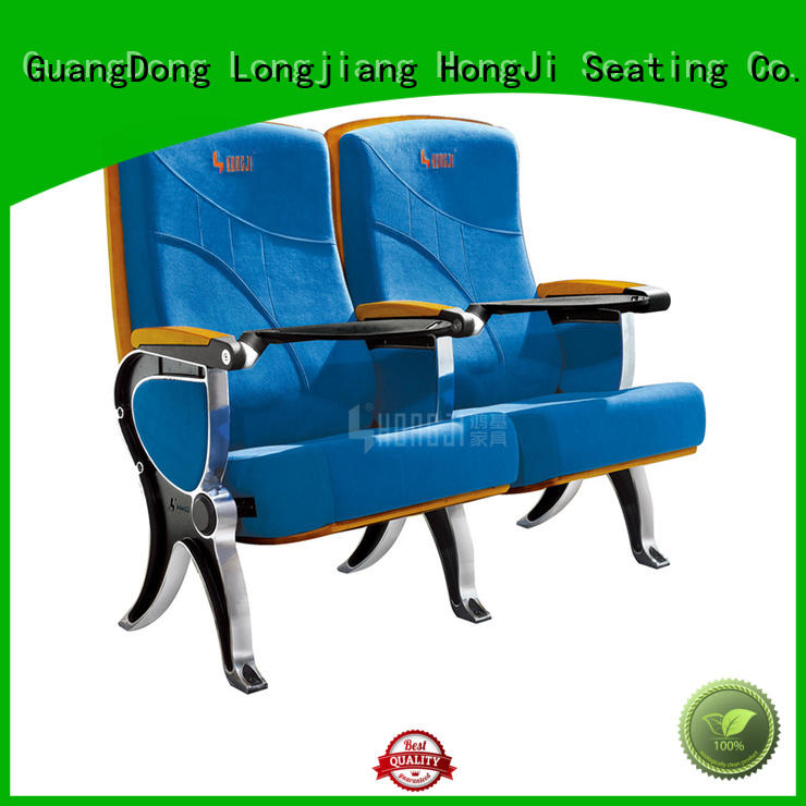 HONGJI unparalleled stackable auditorium seating factory for university classroom
