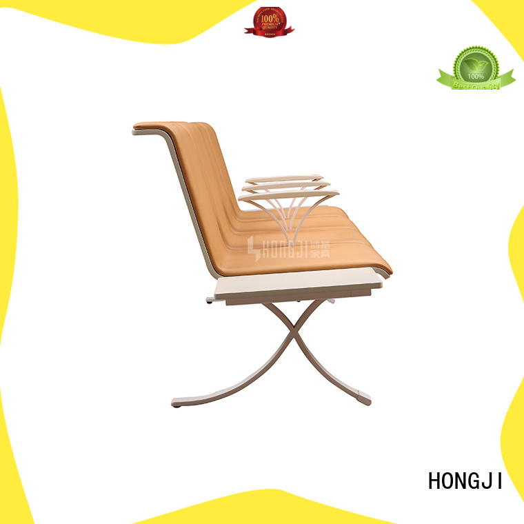 durable in use waiting room bench seating h63a4t fine workmanship for hosiptal