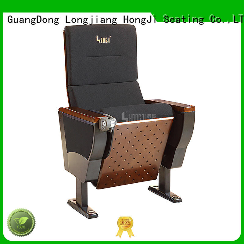 waiting fabric HONGJI Brand lecture theatre chairs